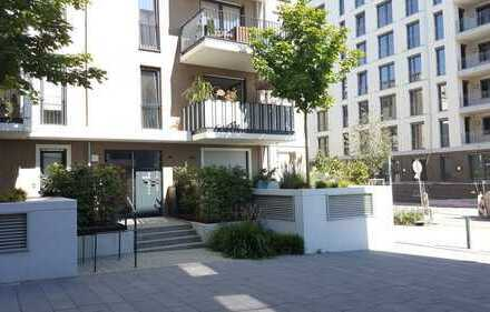 """Stilvolle, neuwertige 3-Zimmer-Wohnung mit Balkon und Einbauküche, """"Echt Gallus"""", Frankfurt am Main"""
