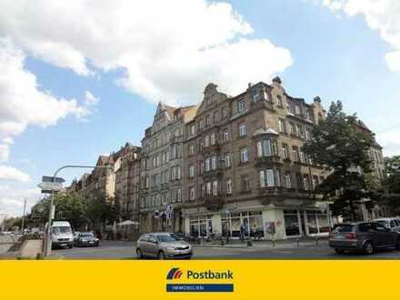 Zentral gelegene, gut renovierte 4-Zimmer-ETW im 1.OG mit Balkon in Nürnberg - Gostenhof