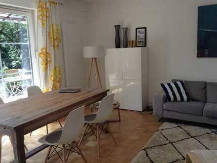 Schöne 4-Zimmer Familienwohnung mit großem Garten in Untermenzing