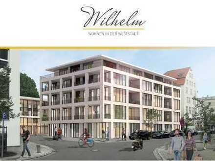Exklusive, lichtdurchflutete 2-Zimmer-Wohnung in der Ulmer Weststadt zu vermieten!