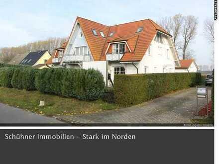 Attraktive, helle Maisonetten-Wohnung für Naturliebhaber in Nisdorf bei Stralsund zu verkaufen