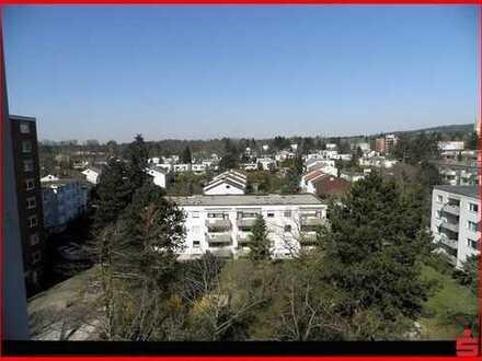 Große 3-Zimmerwohnung mit Fernblick und Westbalkon