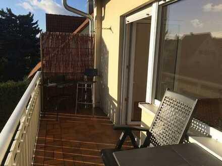 Obergeschosswohnung in Alterlangen mit Balkon