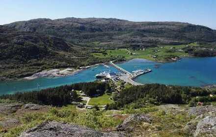 Grundstuck direct am fjord