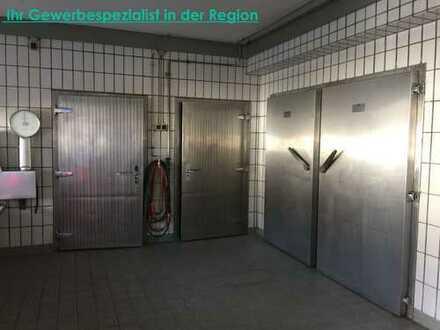 Lagerräume für Gastronomie/Catering mit Kühlräume und Verkaufsraum