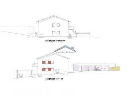 Neubau hochwertige 3-Zimmer Whg. mit Balkon in zentraler Lage in Garham/Vilshofen mit Garage