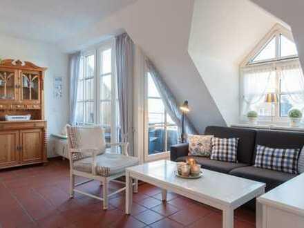 Friesisches Schmuckstück: Exklusive 2-Zimmer-Wohnung zentrale & ruhige Lage in Westerland / Sylt