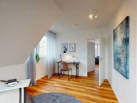 Schöne Dachgeschosswohnung - perfekte Balance von Wohnen und Aktivität