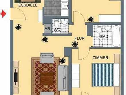 ***schöne, renovierte 81 qm Wohnung mit Loggia direkt am Marktplatz***