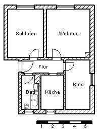 Bild_3-Raum-Wohnung in der Straße des Friedens