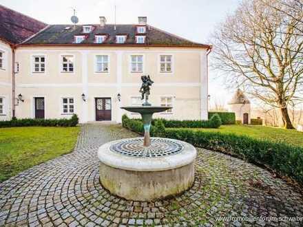 Reserviert !!! Dachgeschosswohnung auf Schloss Wackerstein, unweit von Ingolstadt zu verkaufen!