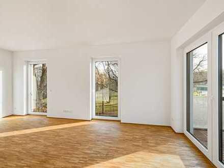 I.OG 4 Zimmerwohnung 2 Balkone Aufzug KfW55 Erdwärmeheizung uvm.
