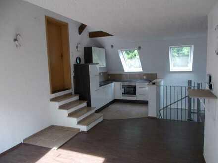 Attraktive 2-Zimmer-Wohnung mit Dachterasse und Einbauküche in Münsterhausen
