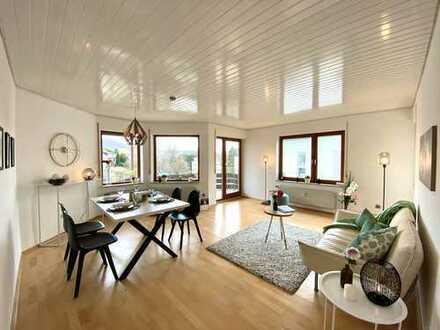 Gepflegte 3-Zimmer-Wohnung mit Terrasse, Balkon & Garage in ruhiger Lage
