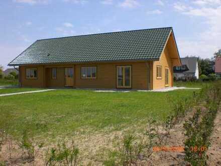 Schönes, ökonomisches, Digital 2.0 fähiges Holzhaus für die größere Familie