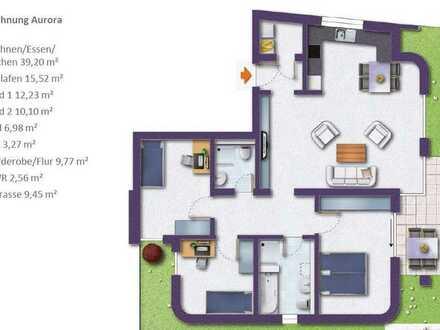 Neuwertige 4-Zimmer-Wohnung mit Balkon und Einbauküche in Öhringen / Limespark