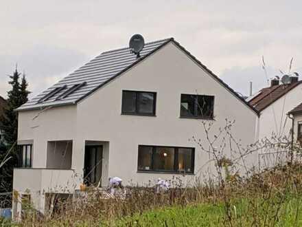 Neubau mit EBK, Garten: exklusive 2-Zi-Wohn. in Altbach S- Bahn Anschlussfür Singel