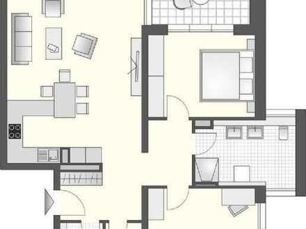 Geräumige 3-Zimmer-Wohnung am Stadtgarten, 3. OG