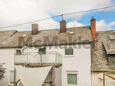 Bewohnte 4-Zi.-DGW mit Balkon in Zentrumsnähe und renoviertem Zustand in Idar-Oberstein