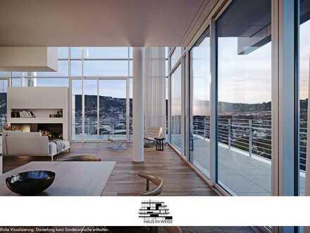 Einmalig für Stuttgart - Penthouse mit unverbaubarem Panoramablick über die Stadt!