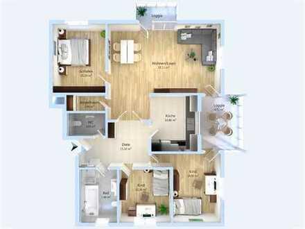Attraktive 4-Zimmer-Erdgeschosswohnung mit hochwertiger Ausstattung in gefragter Lage Maxdorfs