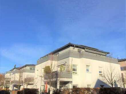 Penthouse-3-Zimmer-Eigentumswohnung mit 2 Tiefgaragen und Einbauküche in Bestlage