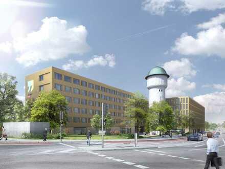 Erdgeschossflächen im Neubauprojekt: Am Wasserturm - Hauptbahnhof Süd