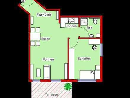 Erstbezug: Schönes Appartement mit Parkett, Einbauküche und Terrasse (R8)