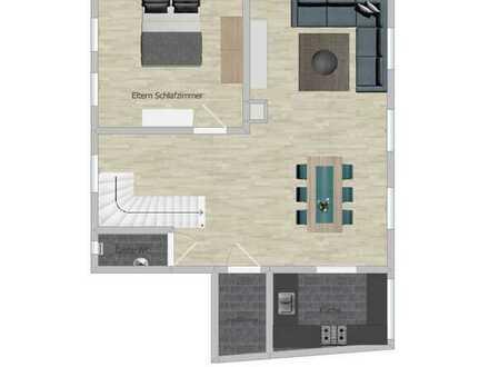 Attraktives 5,5-Zimmer Rheinhaus mit Dachterasse in Ellhofen
