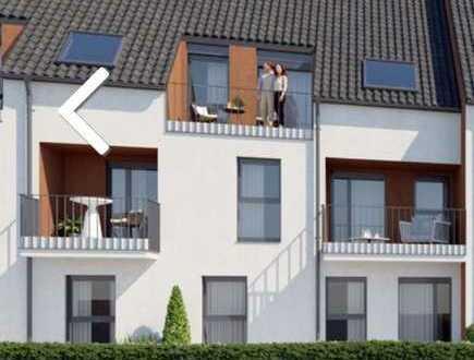 Traumhafte Dachgeschoss-Galeriewohnung mit Fernblick ins Grüne.