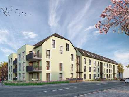 Drei Zimmer Neubau-Mietwohnung mit großem Sonnen-Balkon