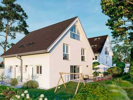 Neubau einer Doppelhaushälfte in Fronberg