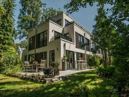 Exklusive 4-Zimmer-Gartenwohnung (128,30 qm Wfl. 167,90 qm Nfl), München-Harlaching / Menterschwaige