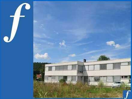 Großes MI-Grundstück * Freifläche * Produktionsgeb. (sanierungsbed.) * Wohnhaus m. 3 Whg. *