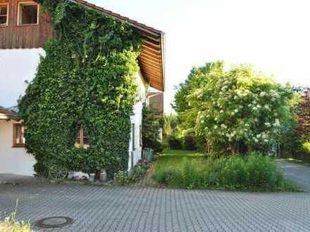 Ruhiges sonniges Wohnhaus in Traunstein-Kammer mit schön eingewachsenem Gartengrundstück