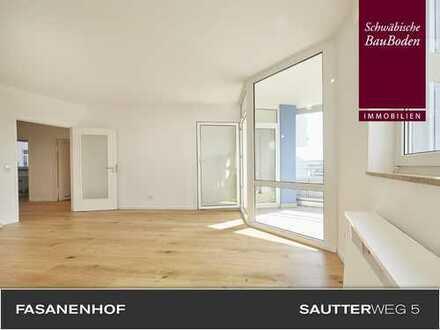 PANORAMABLICK   Renovierte, helle 3 Zi. Wohnung, Balkon, Parkett   Besichtigung unter www.0711.immo