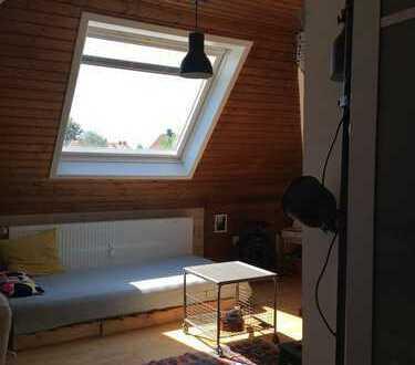 Heidelberg-Weststadt 1-Zimmer-Dachgeschosswohnung