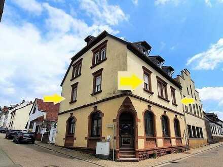 +++Stadtzentrum Rodalben: Eigentumswohnung im 1.OG mit 4 Zimmer, Küche, Bad, Stellplatz+++