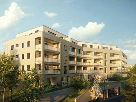 Offene 2-Zimmer-Wohnung mit Terrasse und Garten - WE102