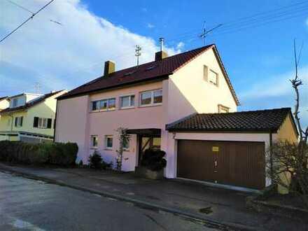 Freistehendes Mehrfamilienhaus in Aussichtslage von Esslingen Zell