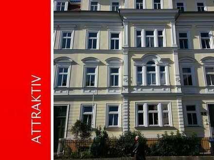 ATLAS IMMOBILIEN: Großzügiges Appartment in der Brühler Vorstadt *Balkon*