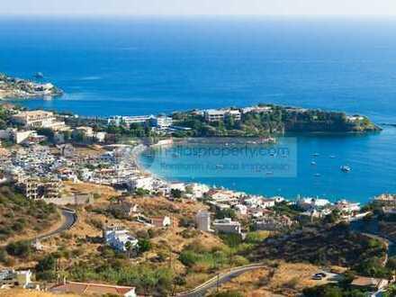 Ideales Baugrundstück für meherere Häuser, oberhalb von Agia Pelagia. Traumweitsicht und Meeresnähe!