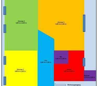 Tolles WG Zimmer in Kiel Brunswik parallel zur Holtenauer in 3er WG