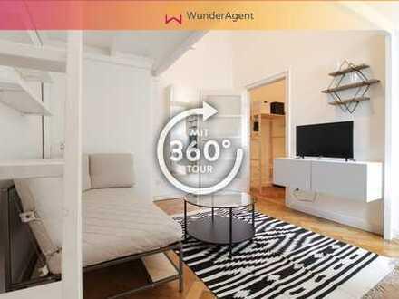 Designer-Apartment voll möbliert in Charlottenburg