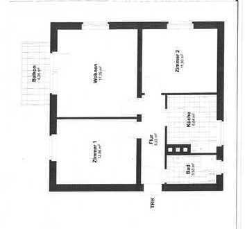 Bild_3 Zimmer Wohnung mit ca. 60 m² in Berlin Hermsdorf zu Vermieten
