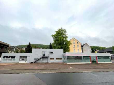 Werkstatt/Autohaus/Showroom/Einliegerwohnung
