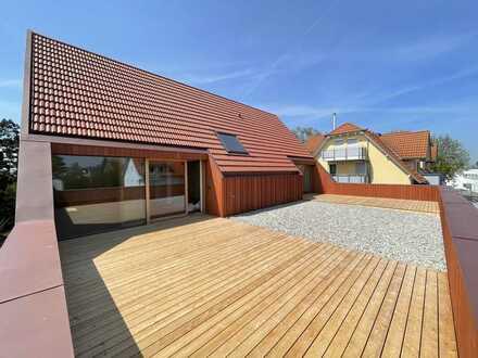 Neue 3-Zi-Wohnung mit Dachterrasse zentral in Langenargen