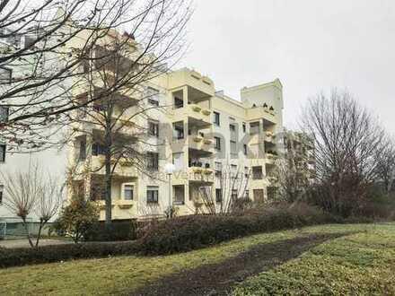 Gepflegte 2-Zi.-ETW mit Balkon und Duplex-Stellplatz in ruhiger Lage