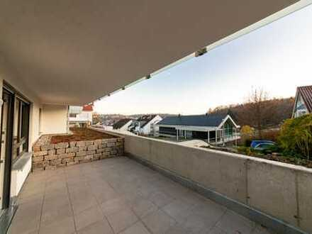 sonnendurchflutete 3,5-Zimmer-Wohnung mit EBK und Terrasse in Stuttgart-Feuerbach *NEUBAU
