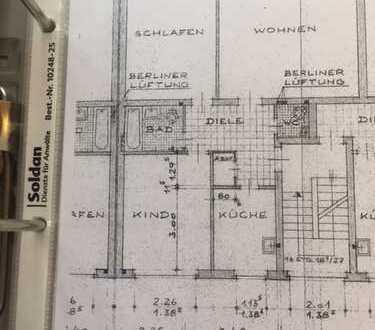 Sanierte 3-Zimmer-Wohnung mit Balkon in Essen